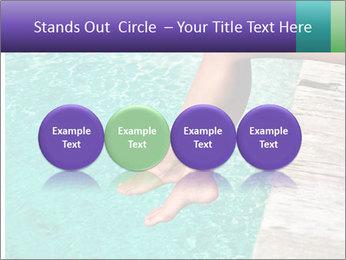 Woman's legs PowerPoint Template - Slide 76