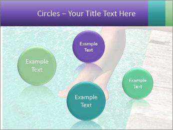Woman's legs PowerPoint Template - Slide 77