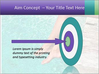 Woman's legs PowerPoint Template - Slide 83