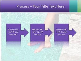 Woman's legs PowerPoint Template - Slide 88