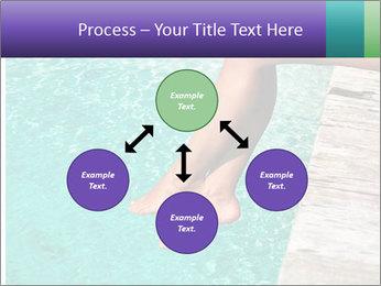 Woman's legs PowerPoint Template - Slide 91