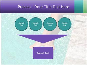 Woman's legs PowerPoint Template - Slide 93