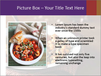 Vegetable dish PowerPoint Template - Slide 13