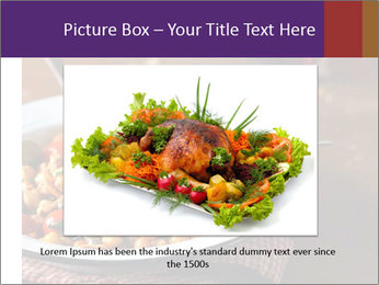 Vegetable dish PowerPoint Template - Slide 16