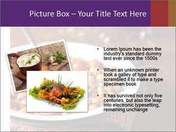 Vegetable dish PowerPoint Template - Slide 20