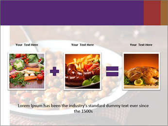 Vegetable dish PowerPoint Template - Slide 22
