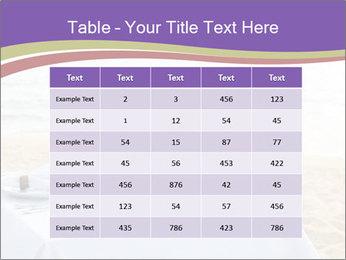Romantic dinner PowerPoint Template - Slide 55