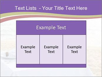 Romantic dinner PowerPoint Template - Slide 59
