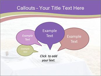 Romantic dinner PowerPoint Template - Slide 73