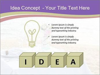 Romantic dinner PowerPoint Template - Slide 80