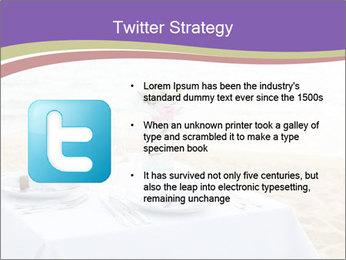 Romantic dinner PowerPoint Template - Slide 9