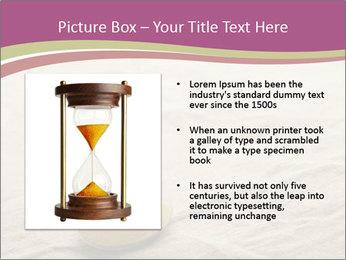 Hourglass PowerPoint Template - Slide 13