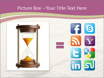 Hourglass PowerPoint Template - Slide 21