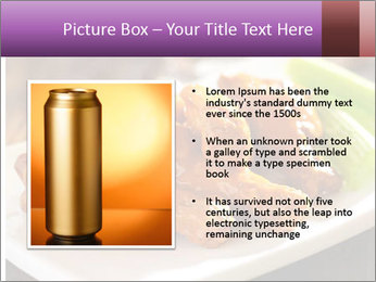 Buffalo chicken PowerPoint Template - Slide 13