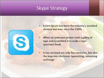 Buffalo chicken PowerPoint Template - Slide 8