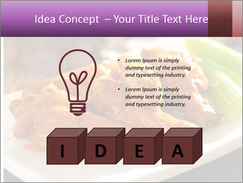 Buffalo chicken PowerPoint Template - Slide 80