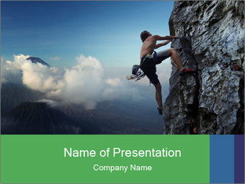 Climber PowerPoint Template
