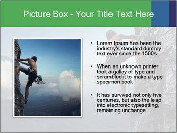 Climber PowerPoint Template - Slide 13