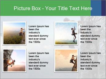 Climber PowerPoint Template - Slide 14