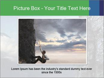 Climber PowerPoint Template - Slide 15