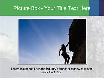 Climber PowerPoint Template - Slide 16