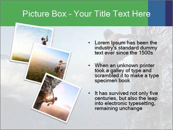 Climber PowerPoint Template - Slide 17