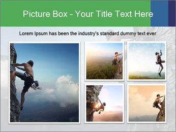 Climber PowerPoint Template - Slide 19