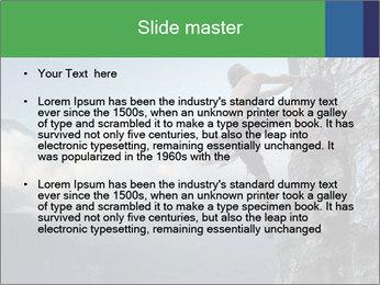 Climber PowerPoint Template - Slide 2