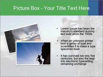 Climber PowerPoint Template - Slide 20