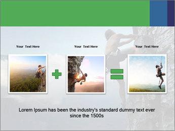 Climber PowerPoint Template - Slide 22