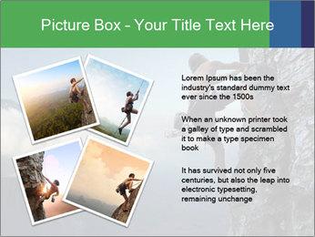 Climber PowerPoint Template - Slide 23