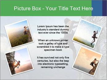 Climber PowerPoint Template - Slide 24