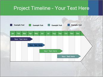 Climber PowerPoint Template - Slide 25