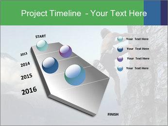 Climber PowerPoint Template - Slide 26