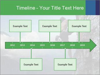 Climber PowerPoint Template - Slide 28