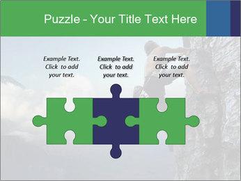 Climber PowerPoint Template - Slide 42