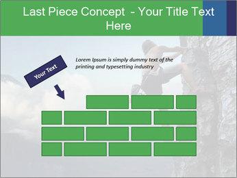 Climber PowerPoint Template - Slide 46
