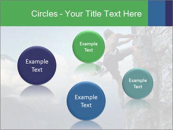 Climber PowerPoint Template - Slide 77