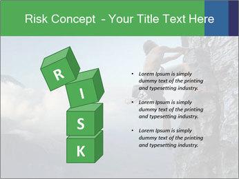 Climber PowerPoint Template - Slide 81