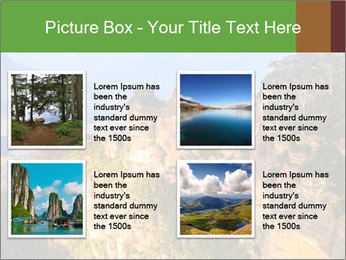 Three sister rock PowerPoint Templates - Slide 14