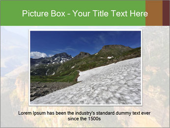 Three sister rock PowerPoint Templates - Slide 16
