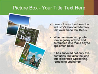 Three sister rock PowerPoint Templates - Slide 17
