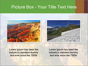 Three sister rock PowerPoint Templates - Slide 18