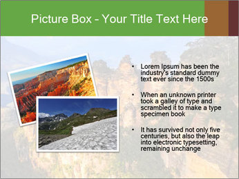Three sister rock PowerPoint Templates - Slide 20