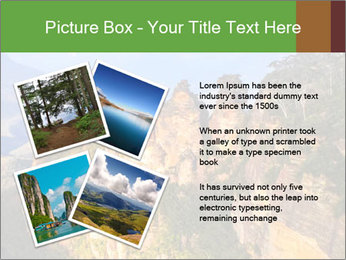 Three sister rock PowerPoint Templates - Slide 23