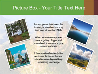 Three sister rock PowerPoint Templates - Slide 24