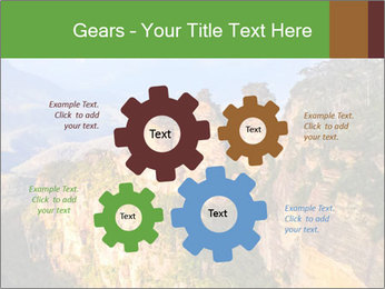 Three sister rock PowerPoint Templates - Slide 47