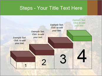 Three sister rock PowerPoint Templates - Slide 64