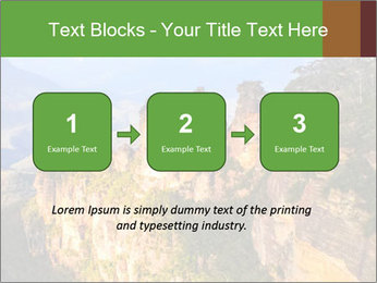 Three sister rock PowerPoint Templates - Slide 71