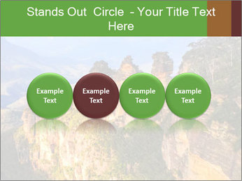 Three sister rock PowerPoint Templates - Slide 76